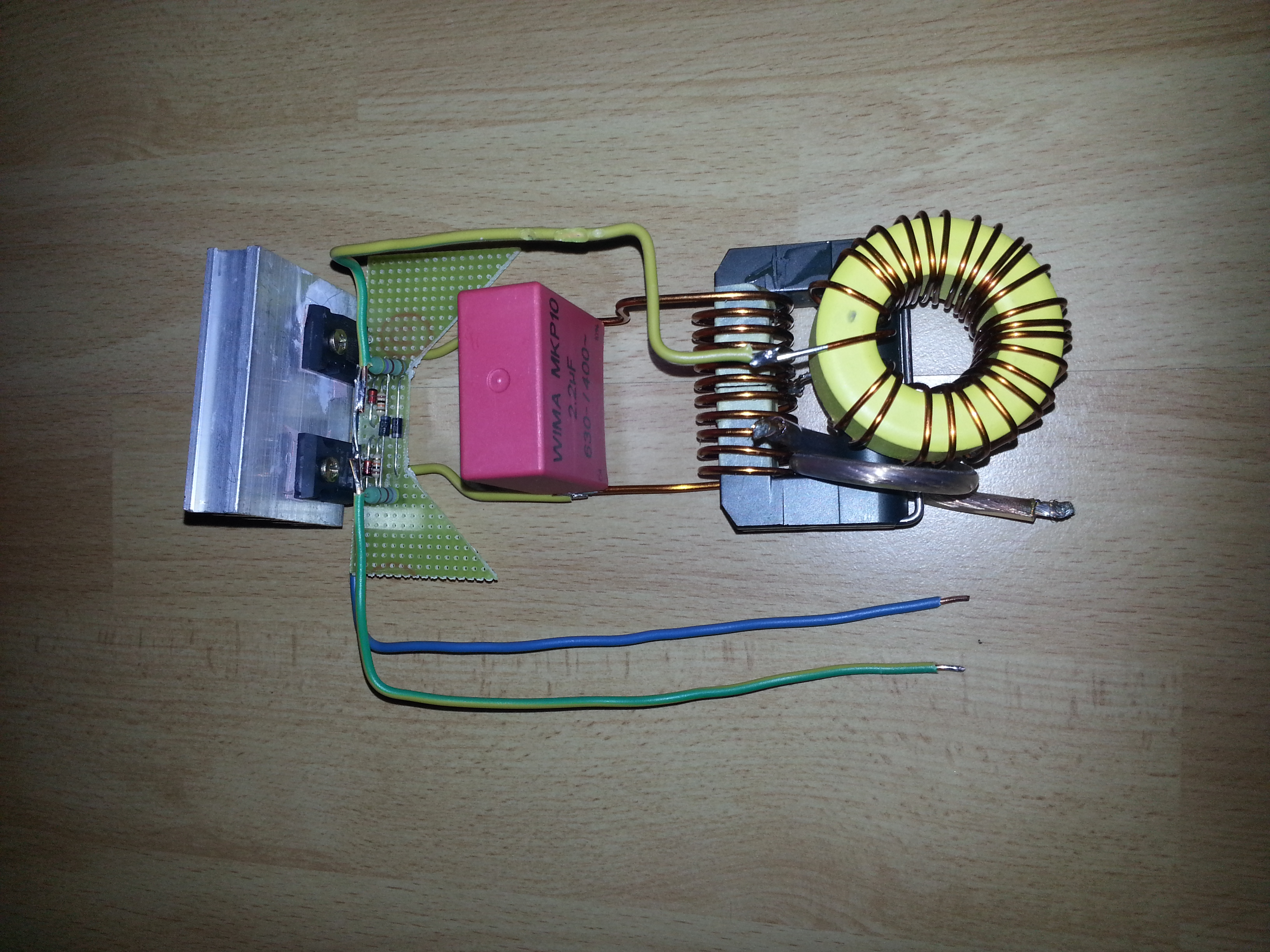 Bigger ZVS Inducton Heater