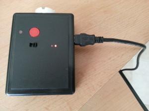 TV-b-gone charging