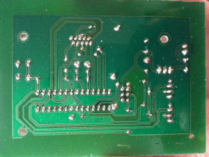 covered PCB for chrono