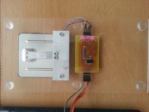 load cell + instrumentation amplifier PCB