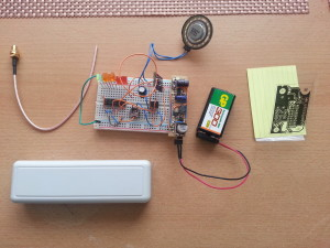 lt5534 rf detector on breadboard