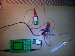 pressure test setup