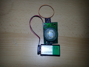 RF detector with DIY PCB