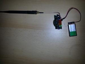 RF detector on DIY PCB