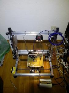 Velleman k8200 first print